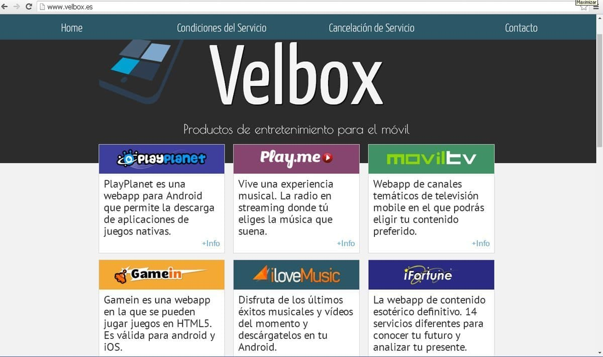 Velbox