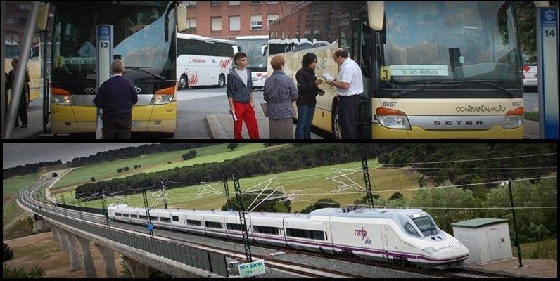 tren bus